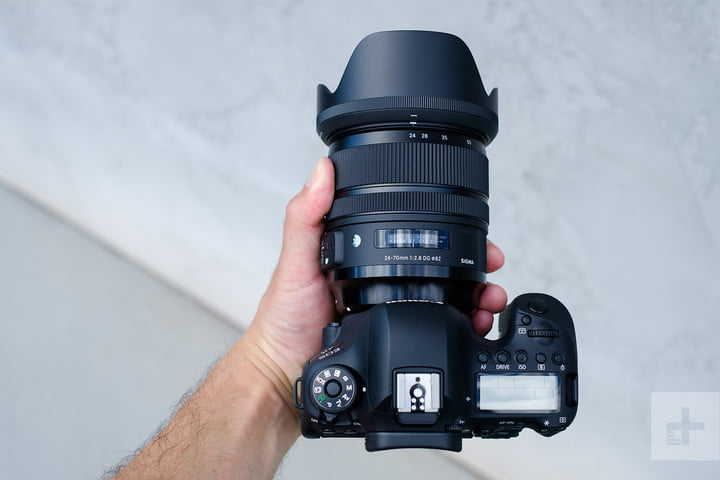 Sigma 24-70mm F2.8 Art review top down