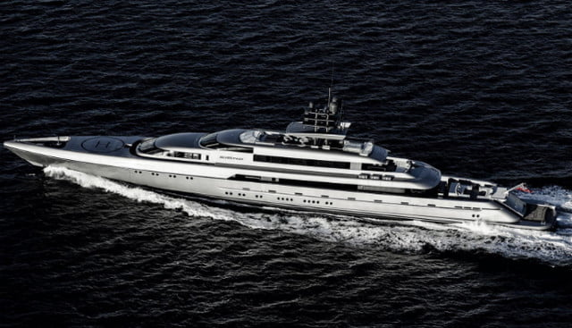 luxury yachts the worlds best super silver fast 1