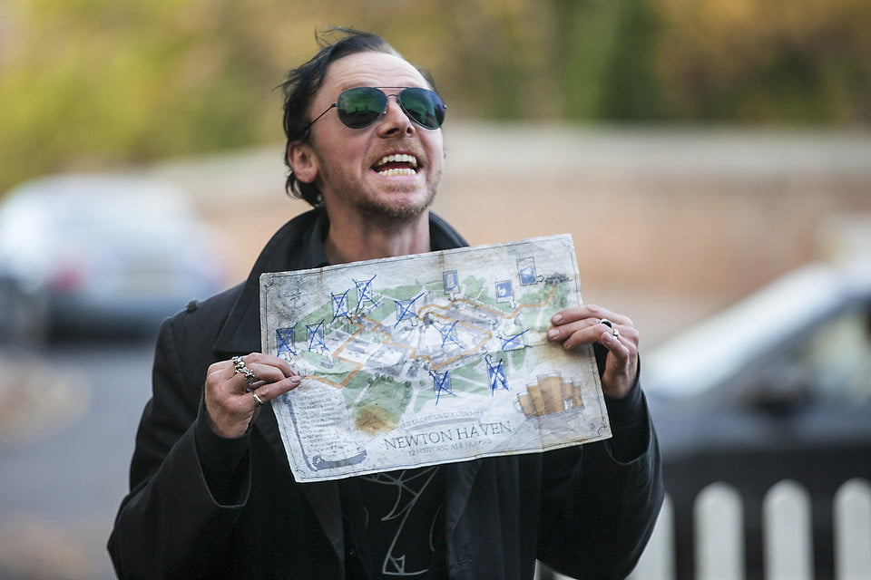 Simon Pegg in The World's End