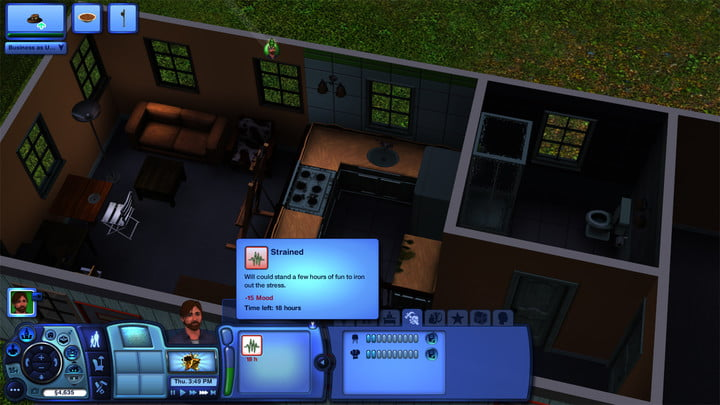 playing the sims in harsh light of adulthood sims3 backlogfeature 7