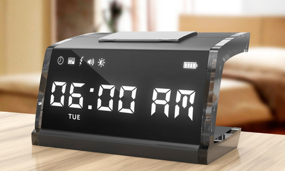 Smart Alarm Clock >> SingNshock alarm clock delivers an electric shock to wake you up | Digital Trends