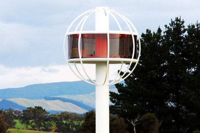 skysphere is a voice controlled man cave 33 feet in the air 9