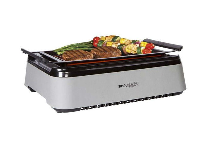 Get Simple Living\'s Indoor Smokeless Grill for Half off on ...