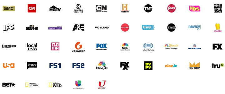 sling tv hands on with video blue 2018