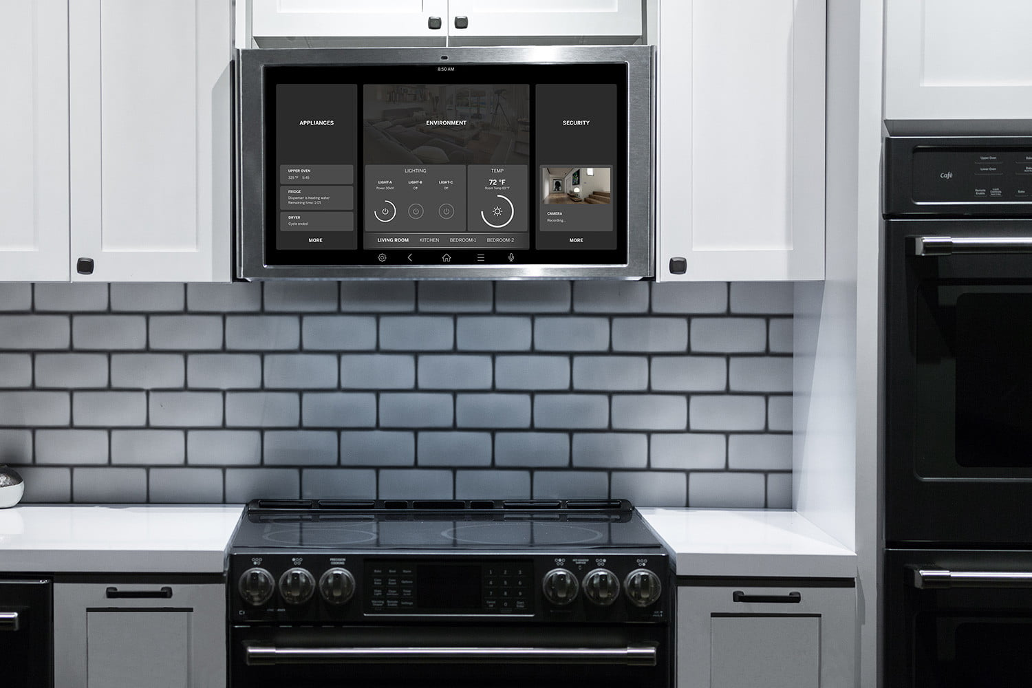 At Ces 2018 Guided Cooking With Smart Appliances Was A
