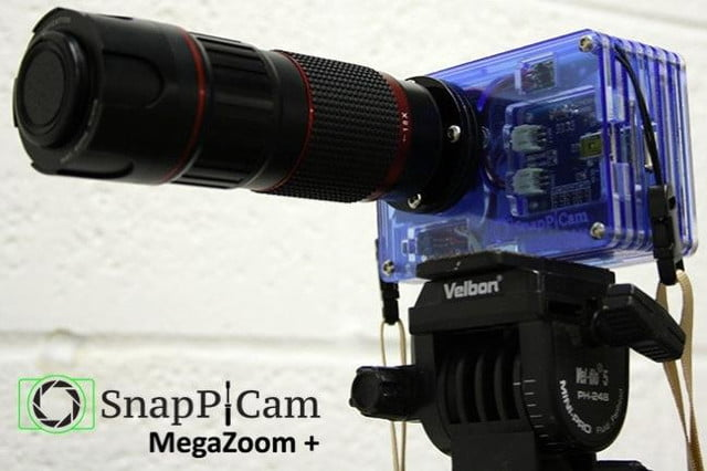 snappicam raspberry pi interchangeable lens camera hack together 3