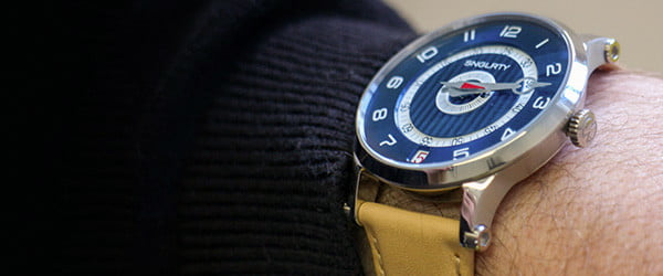 This beautiful, unique one-handed watch started life as a doodle on a coaster