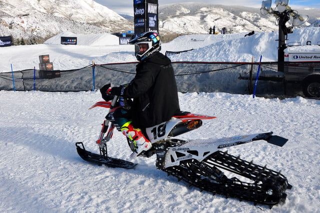 snow bike winter xgames snowbike 2