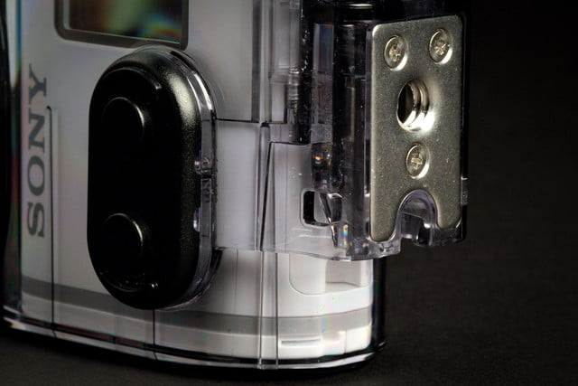 Sony Action Cam 4K case detail