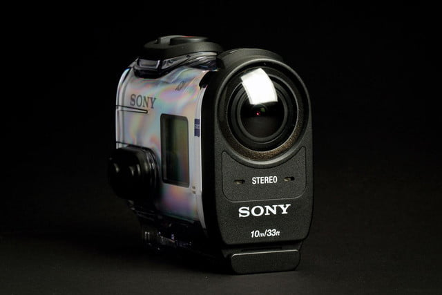 Sony Action Cam 4K front case angle