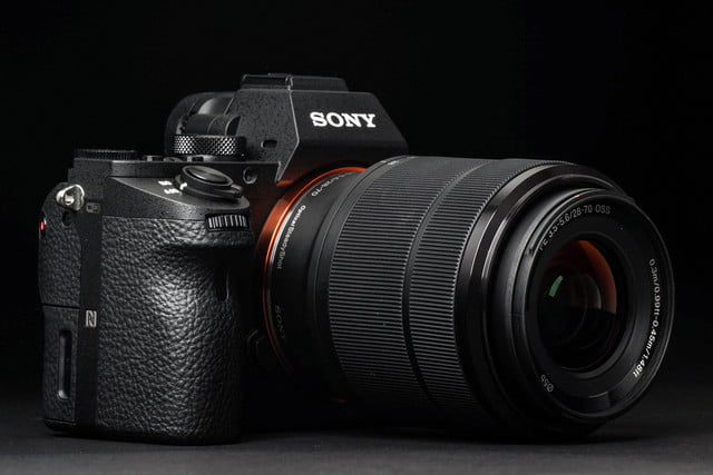 Sony Alpha A7 Mark II review front angle 2