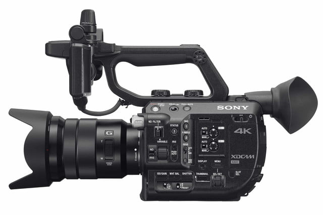 sonys compact 4k super 35mm camcorder will take your youtube videos to next level sony fs5 3