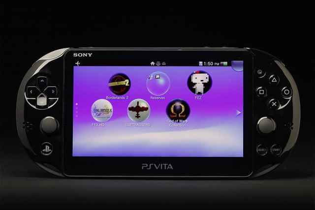 Sony PlayStation Vita Slim review front screen games