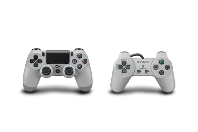 new ps4 turns back clock celebrate 20 years playstation sony ps1 edition controllers
