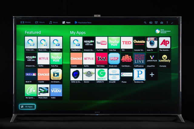 Sony XBR-65X950B review smart TV interface