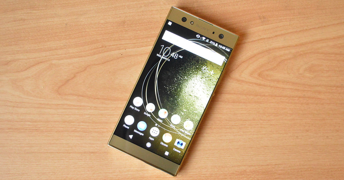 sony xperia xa2 ultra review digital trends. Black Bedroom Furniture Sets. Home Design Ideas