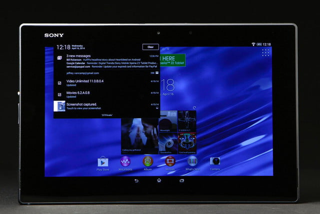 Xperia Z2 Tablet Review: The Best 10 1-inch Android Tablet   Digital