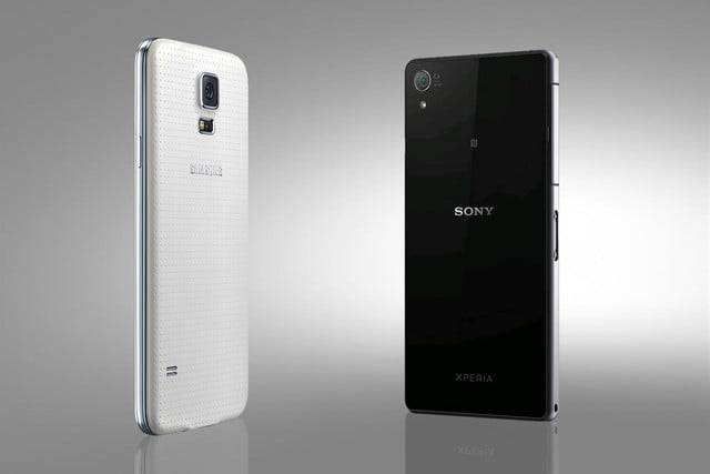 Sony Xperia Z2 vs Samsung Galaxy S5