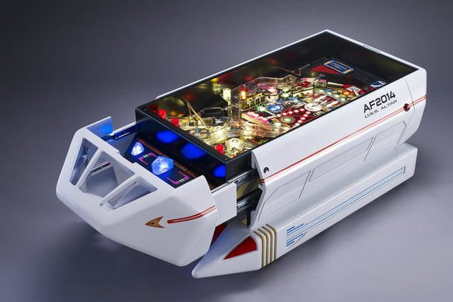 altar furniture makes coffee tables from pinball machines spaceship machine table