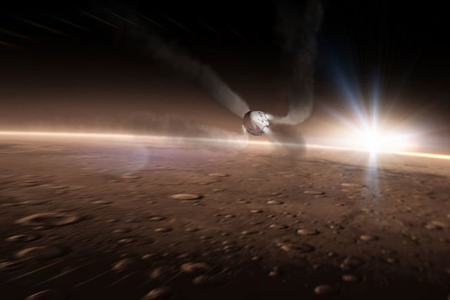 spacex announces mars mission for 2018 red dragon