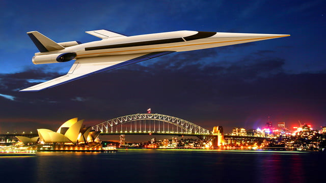 high speed concepts that could mark the return of supersonic travel spike s 512 sydney1
