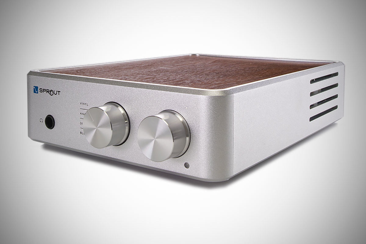 PS Audio's Sprout100 doubles the power on an already impressive amplifier