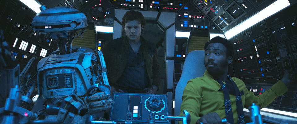 How big screens and small explosions shaped the VFX of Solo: A Star Wars Story
