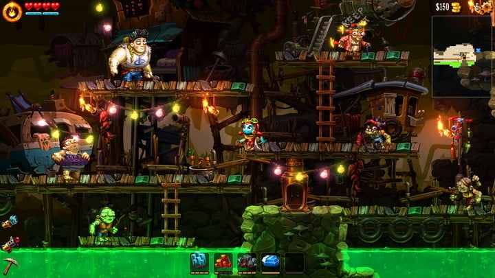 best indie games for the ps4 steamworld dig 2