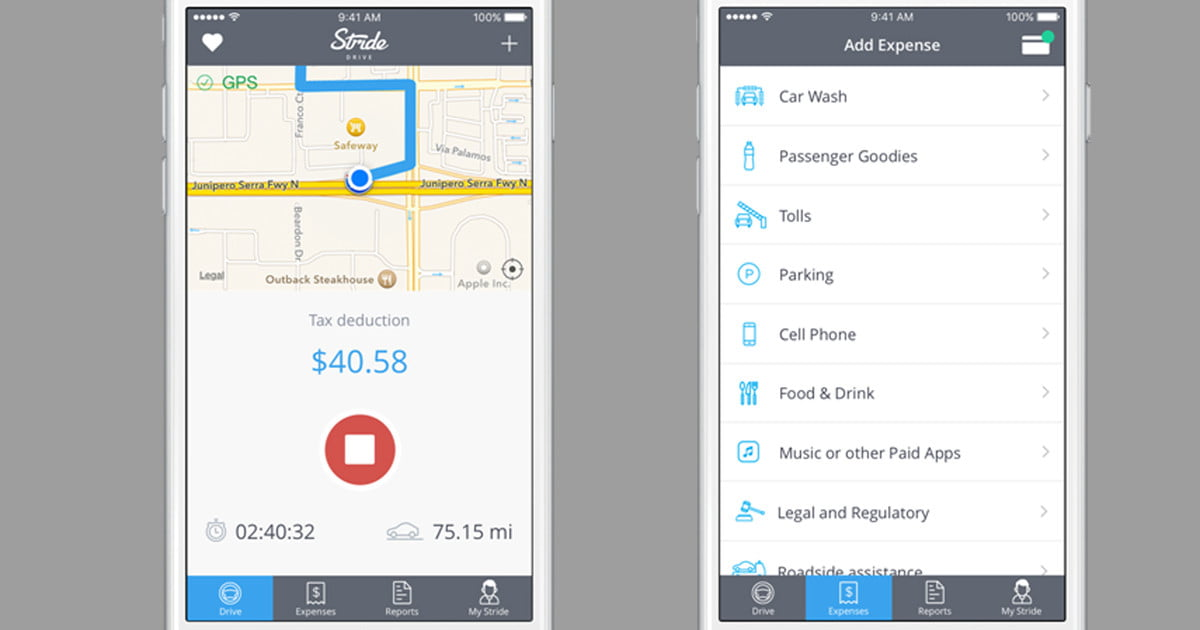 stride drive helps uber drivers manage business expenses digital trends