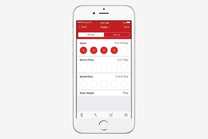 best health and fitness apps for iphone stronglifts