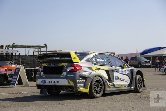 riding in subarus grc race car srtusa interview subaru  s ride along 103