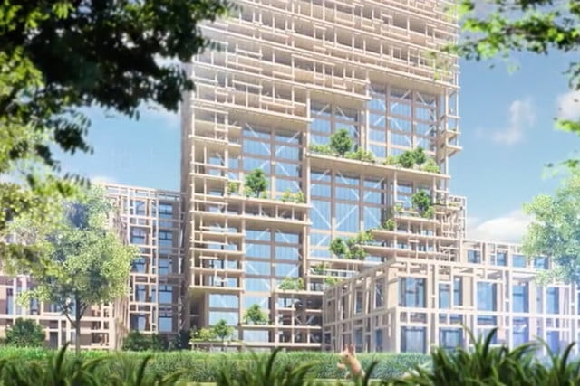 coolest buildings on earth sumitomo forestry 3
