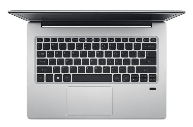 acer introduces new pcs at next event swift 1 keyboard from above
