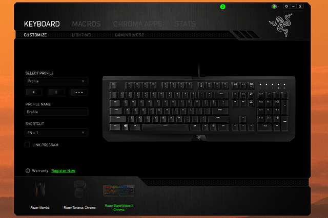 Razer Synapse 3 Blackwidow
