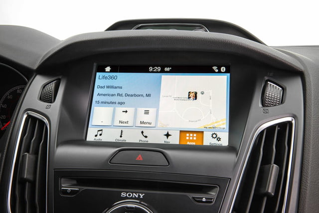 Ford Sync AppLink Life360 Family Member Location