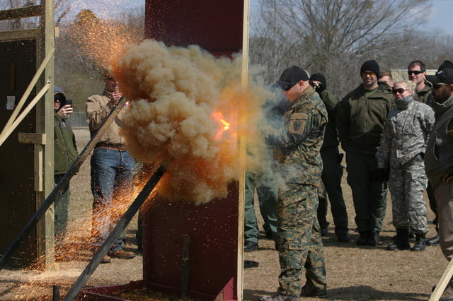 Thermite Torch Used