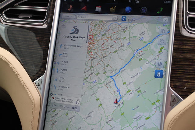 abnormally normal driving the tesla model s p90d 1364