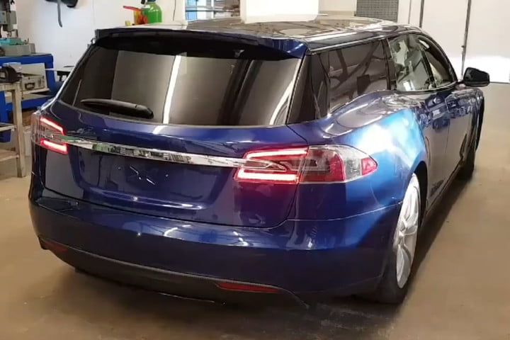 Brits Turned The Tesla Model S Into A Wagon And One Could Be Yours