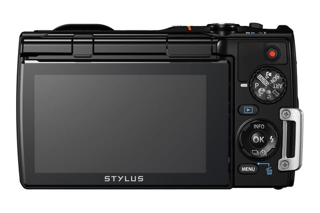 olympus debuts new stylus tg 850 tough camera blk back