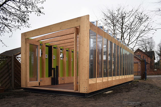 a hydraulic greenhouse rises off the ground during floods that grows legs  bat studio 2