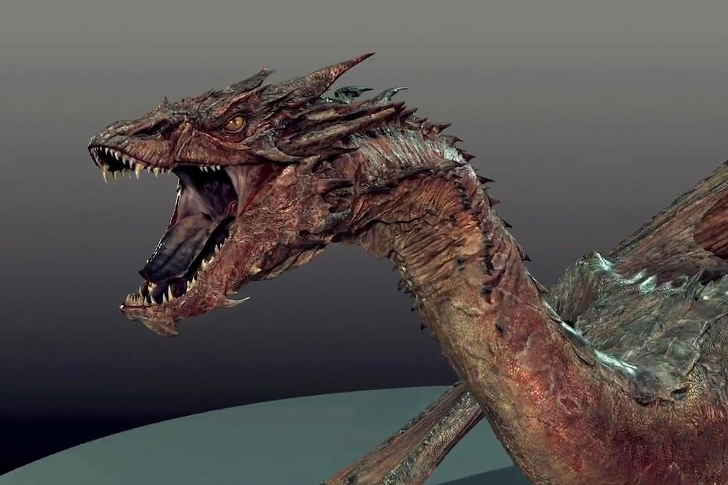 Building A Better Dragon in The Hobbit: The Desolation of ...