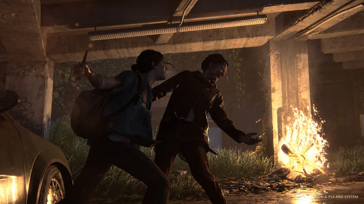 the last of us part 2 fire