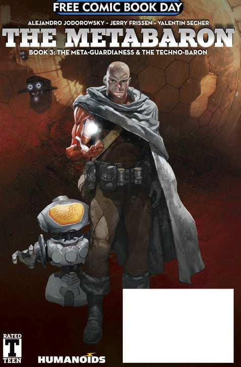 The Metabaron Book 3: The Meta-Guardianess And The Techno-Baron Cover