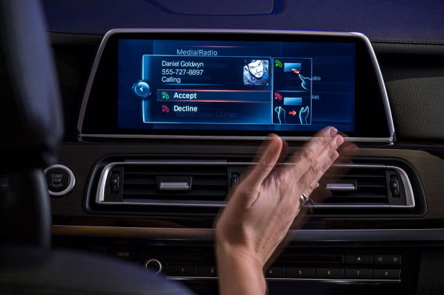 new bmw idrive features touchscreen and gesture recognition the next generation of 3