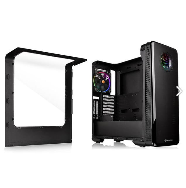 thermaltake introduces view 28 mid range case side open