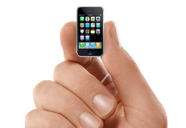 WSJ: New smaller iPhone real, MobileMe may become free, iTunes music