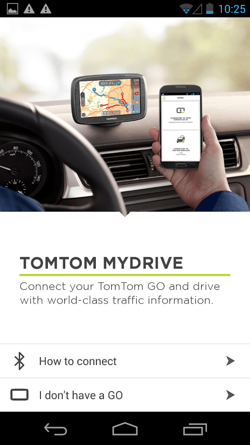 review tomtom go 500 adds free real time traffic info. Black Bedroom Furniture Sets. Home Design Ideas