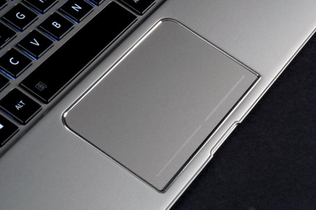 Toshiba Kirabook 2014 review touchpad