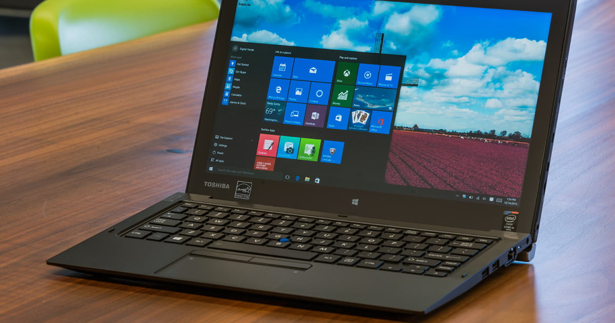 Toshiba Portege Z20t 2 In 1 Notebook Review Digital Trends