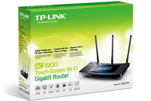 tp link brings user friendly touchscreen latest router touchp503